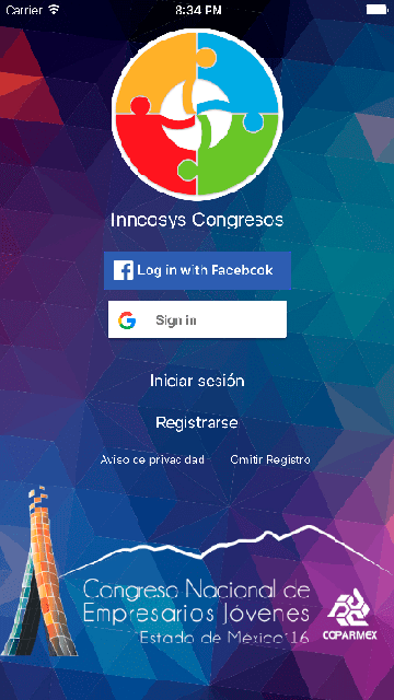 Inncosys Congresos App