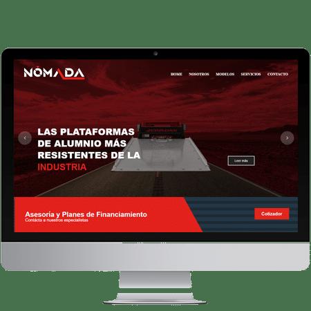 Pagina web de nomada mexico