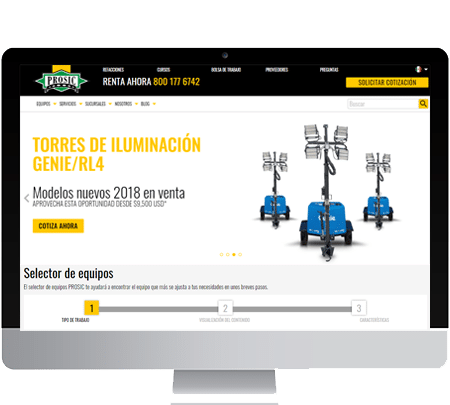 Sitio Web de Prosic